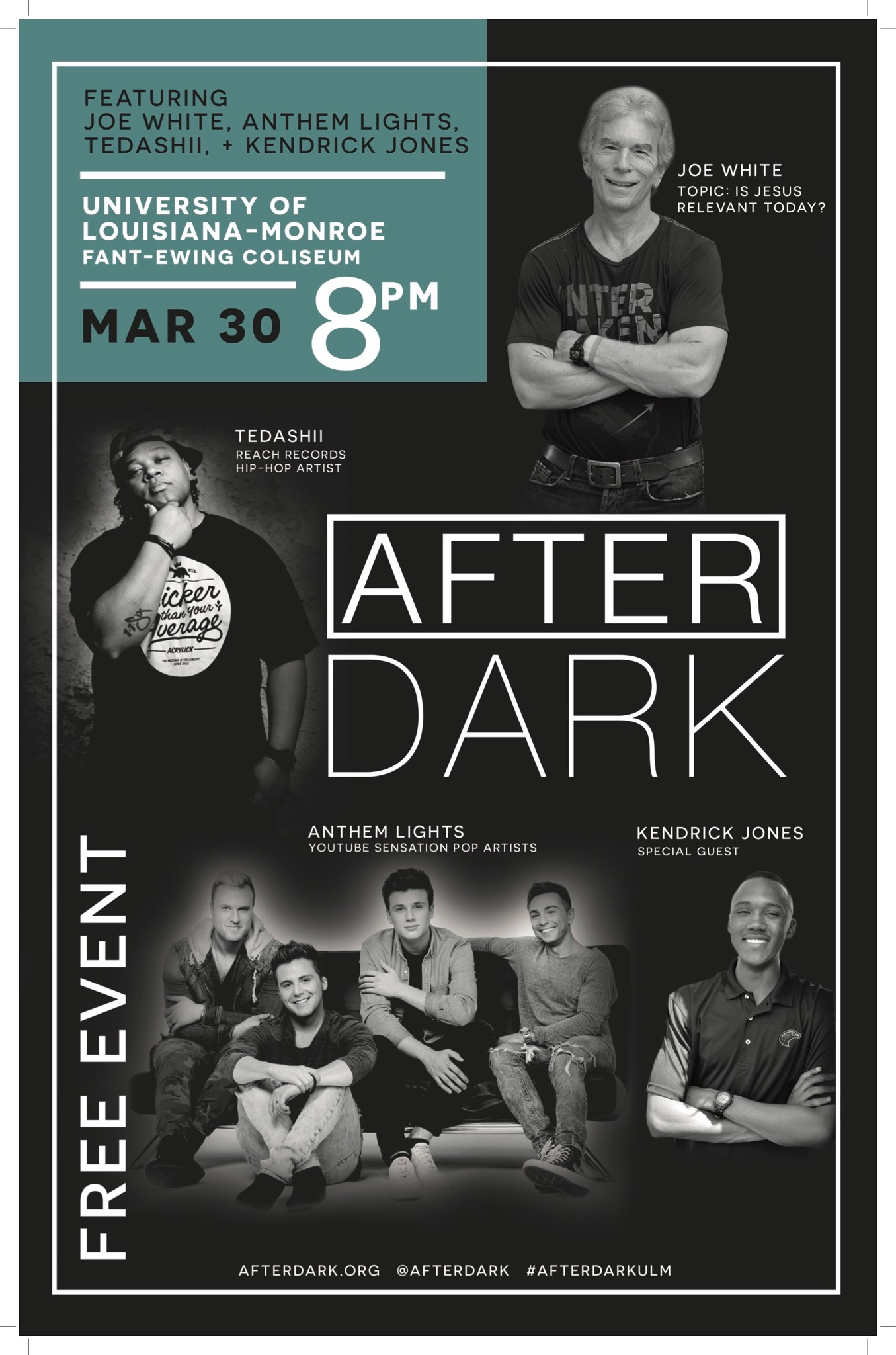 AfterDark with Tedashii & Joe White!