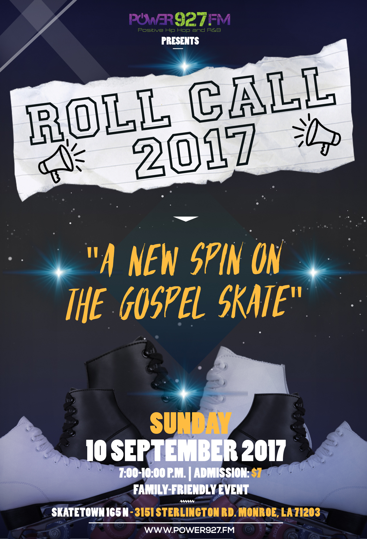 Roll Call 2017: A New Spin on the Gospel Skate
