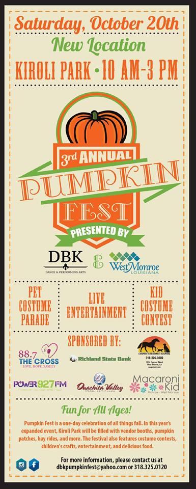 3rd Annual Pumpkin Fest