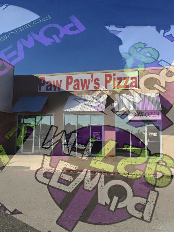 Power Sticker Stop: Paw Paw's Pizza Factory