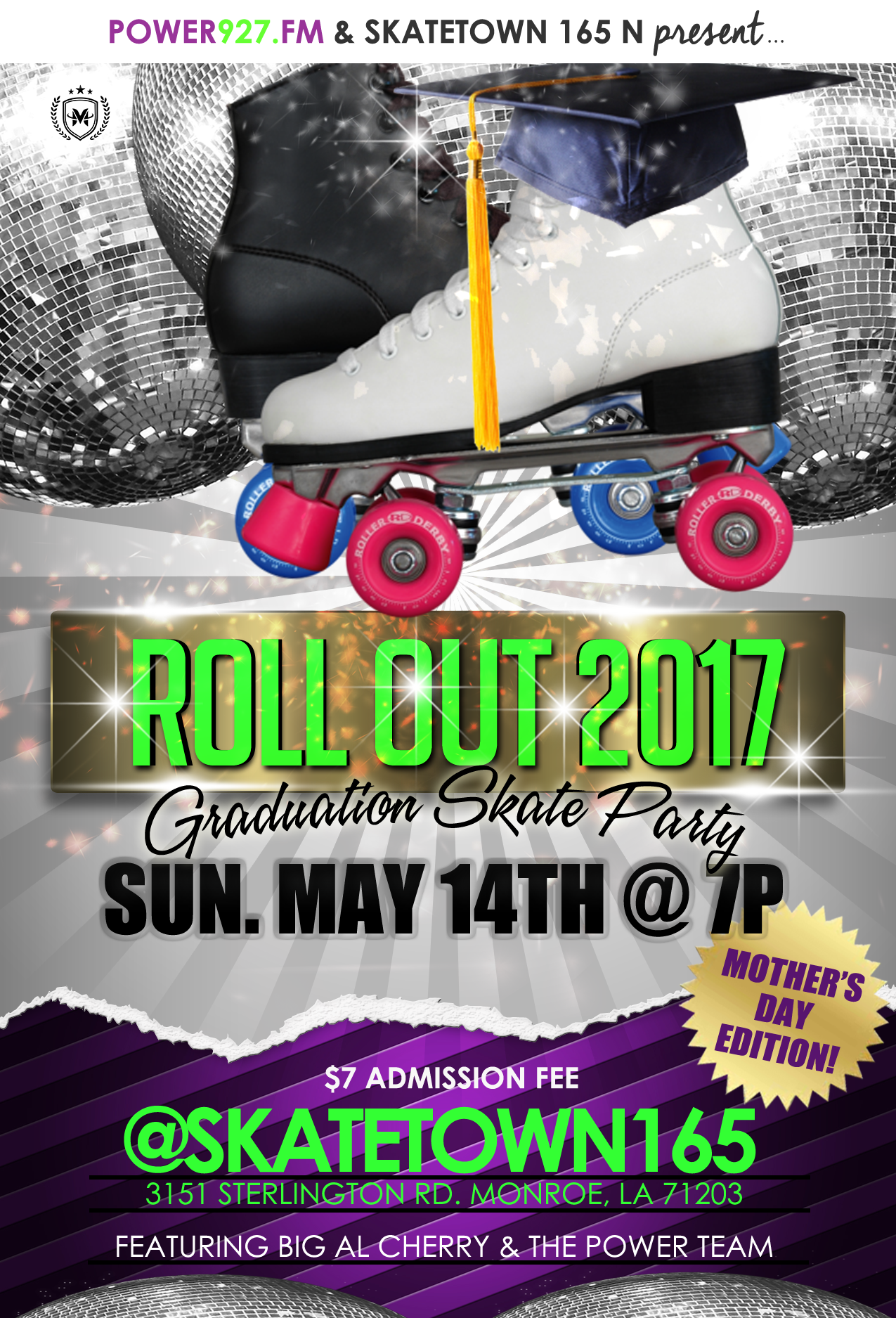 Roll Out 2017: The Most Epic Commencement Celebration