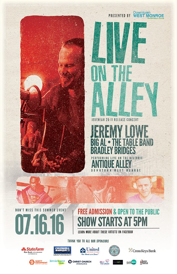 Jeremy Lowe's Album Release Concert: Live on the Alley