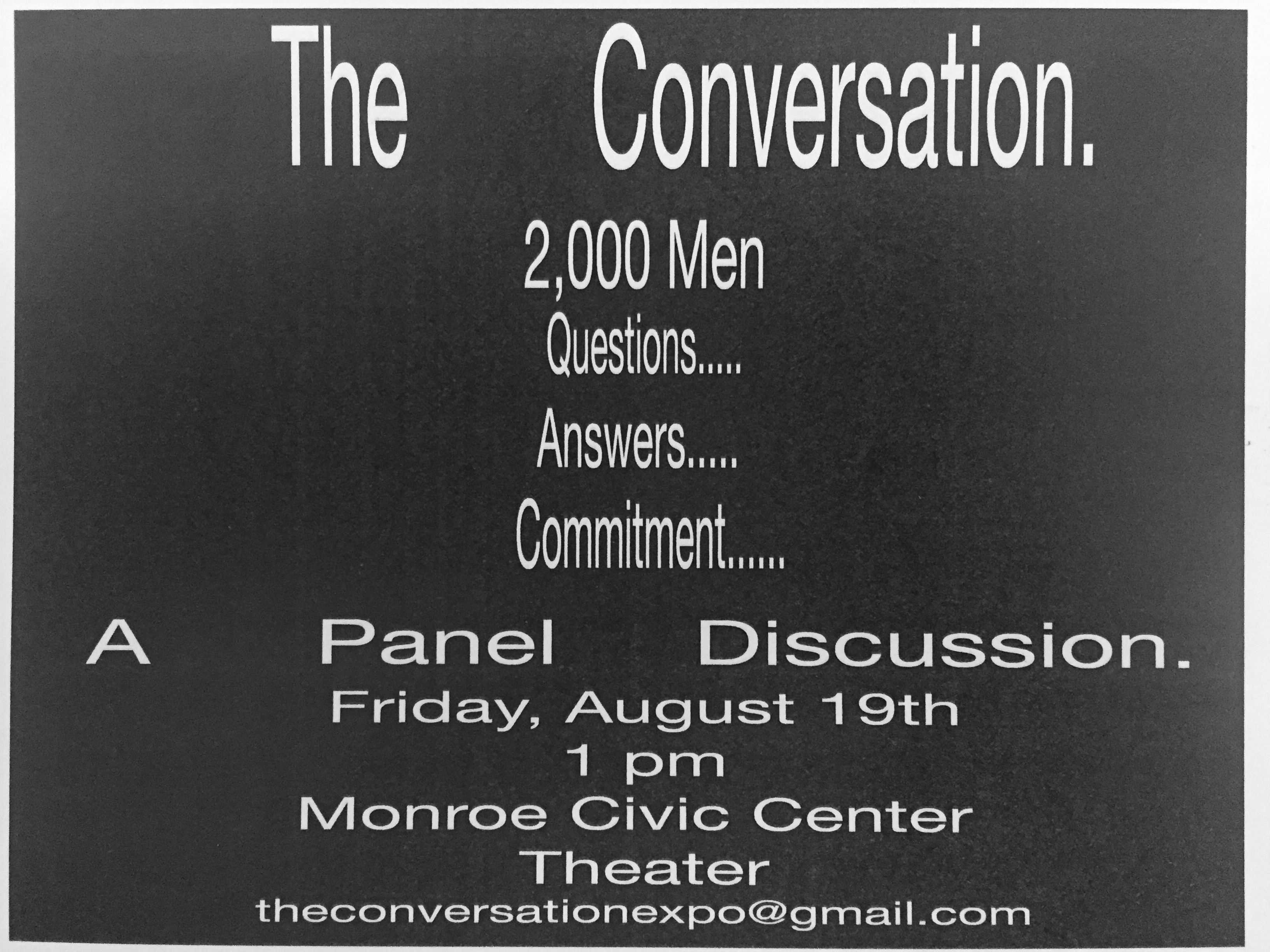 The Conversation: A Panel Discussion
