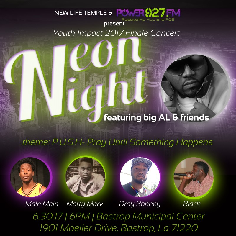 Youth Impact 2017: Neon Night