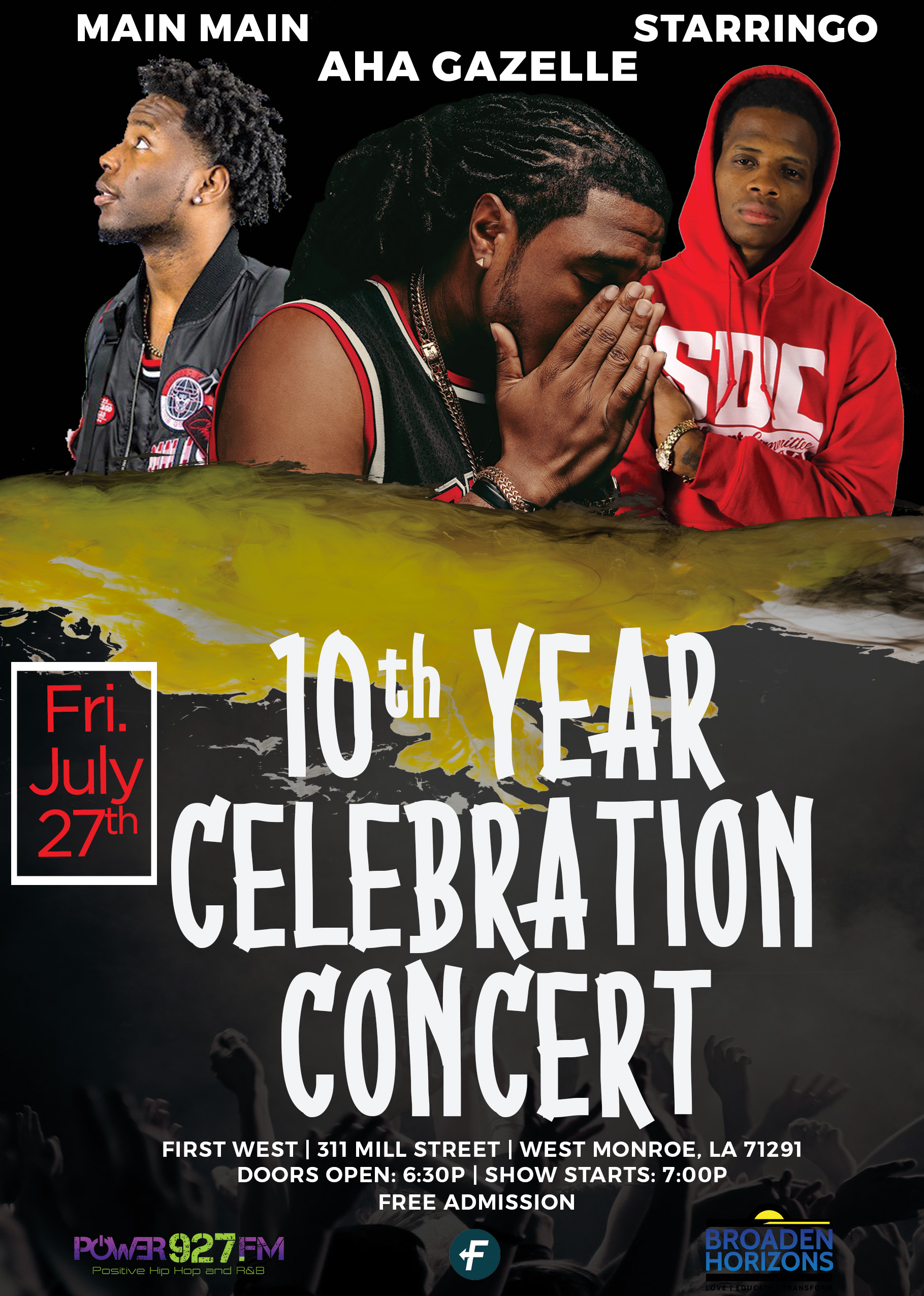 Broaden Horizons' 10th Year Celebration Concert